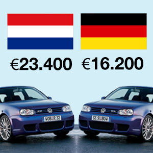 Duitse auto importeren