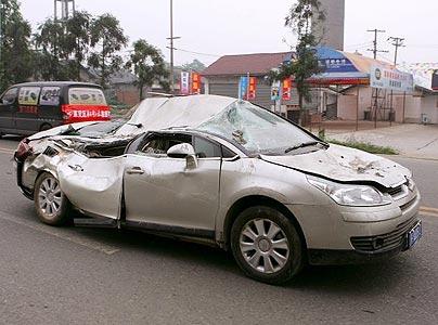 ernstige schade verleden auto