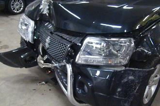 Auto met schade