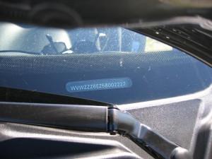 chassisnummer check