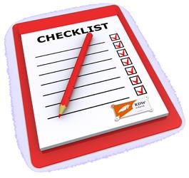 auto check checklist
