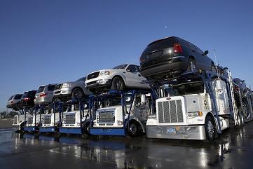 auto importeren buitenland vervoer truck