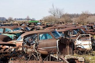 auto verleden APK afgekeurd schroot