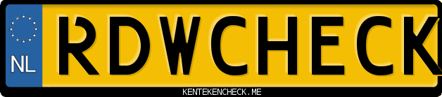 nachecken kenteken bord Nederlands officieel rapporten opvragen